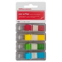 Office Depot Index Flags 12 x 45 mm Assorted 35 x 4 Pack