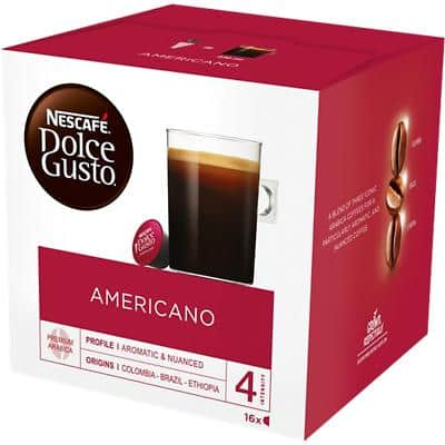 NESCAFÉ Dolce Gusto Coffee Pods Americano 16 Pieces