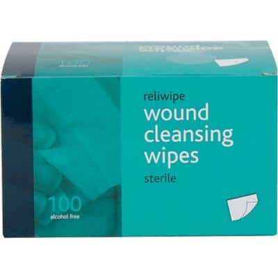 Cleansing Wipes Sterile Pack of 100