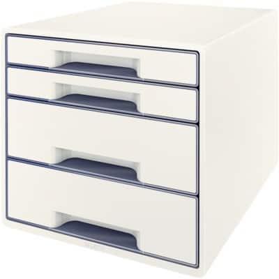 Leitz Drawer Unit 52132001 Plastic White, Grey