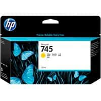 HP 745 Original Ink Cartridge F9J96A Yellow