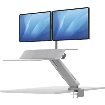 Fellowes Sit-Stand Workstation Lotus RT 8081801 White