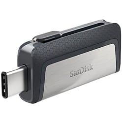 SanDisk Flash Drive Ultra Dual 16 gb Black, Silver