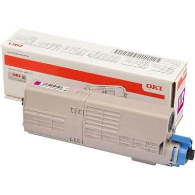 OKI 46490402 Original Toner Cartridge Magenta