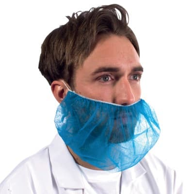 Supertouch Beard Snoods 15210 Blue 100 Pk