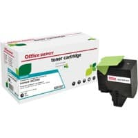 Compatible Office Depot Lexmark 802HK Toner Cartridge Black