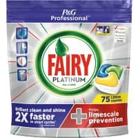 Fairy Dishwasher Tablets Platinum Lemon 75 Pieces