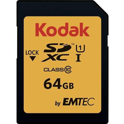 Kodak SDXC Flash Memory Card UHS-I U1 64 GB