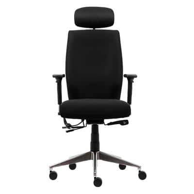 WorkPro Ergonomic Office Chair Foton Synchro Tilt Black