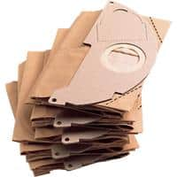 Kärcher Paper Filter Bags Two-Ply 6.904-322.0 Brown Pack of 5