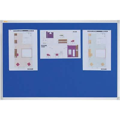Franken Notice Board Blue 120 x 90 cm