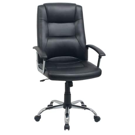 Niceday berlin leather-faced Executive Chair Black