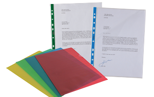 Office Supplies - Punched Pockets