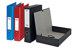 Office Supplies - Ring Binders and Box files