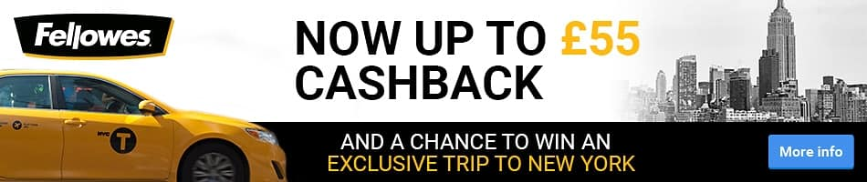 Now up to £55 Cashback and a chance to win an exclusive trip to New York
