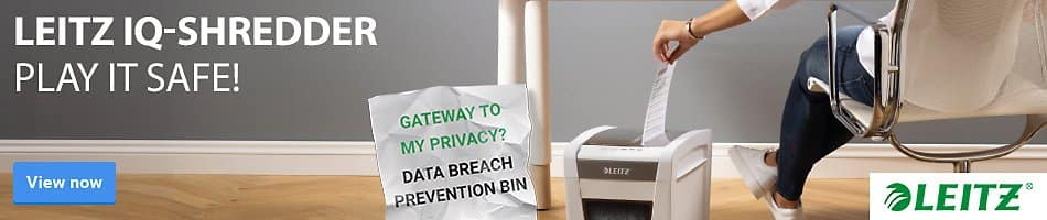 Gateway to my privacy? Data breach prevention bin - Play it safe!