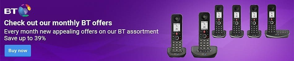 Check out our monthly BT offers - Every month new appealing offers on our BT assortment - Save up to 39%
