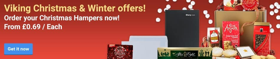 Viking Christmas & Winter offers! Order your Christmas Hampers now! From £0.69 / Each
