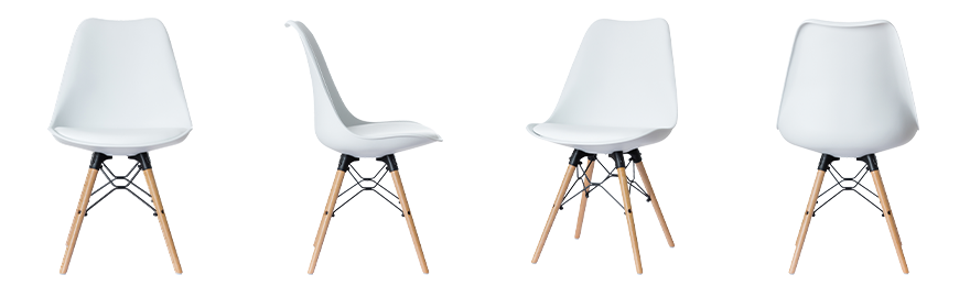 Paperflow Chairs Dogewood 2 Pieces