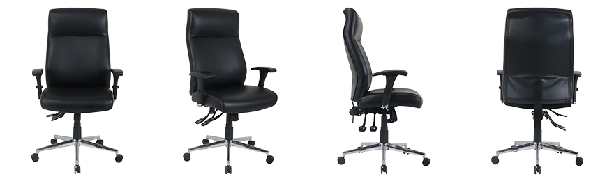 Realspace Executive Office Chair Artemis Synchro Tilt