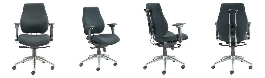 WorkPro Operator Chair Ergonomy Synchro Tilt