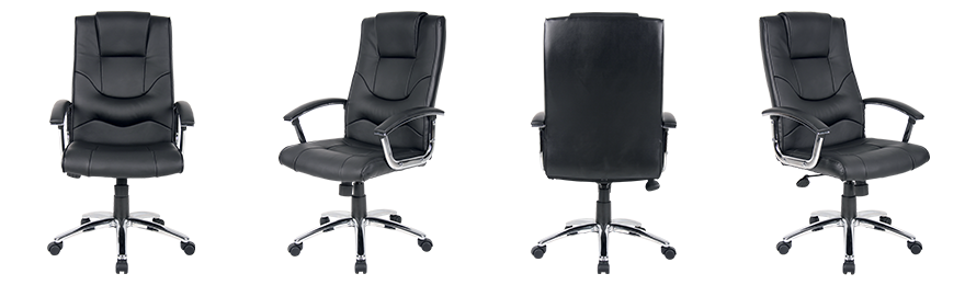 Realspace Executive Chair Rotterdam Permanent Contact Black