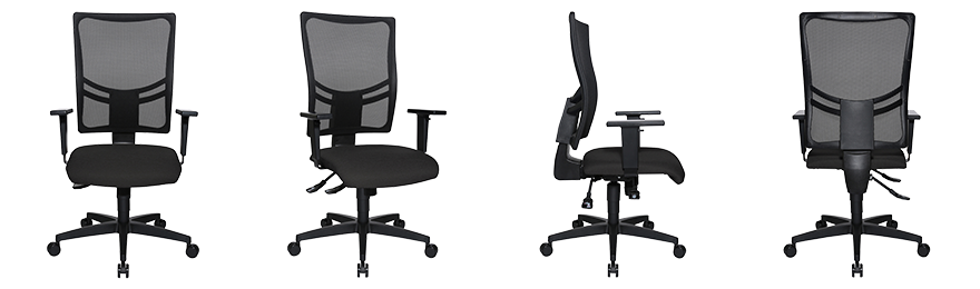 WorkPro Ergonomic Office Chair Sydney Synchro Tilt