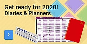 Get ready for 2020! - Diaries & Planners