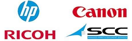 Logo Partners - HP, Canon, Ricoh, SCC