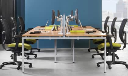 Large: for cooperative and open space office environments